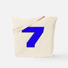 JS7blue Tote Bag