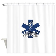Paramedic Action Shower Curtain