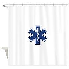 EMT Rescue Shower Curtain
