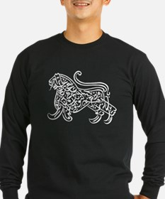 tshirt-calligraphy01-wit Long Sleeve T-Shirt
