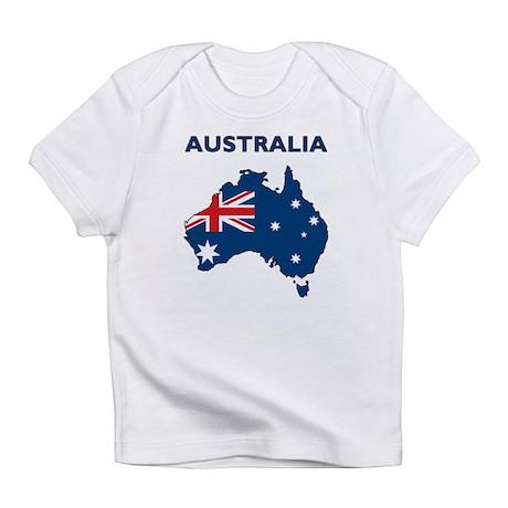 Map Of Australia Infant T-Shirt