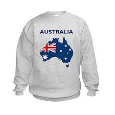 Map Of Australia Sweatshirt