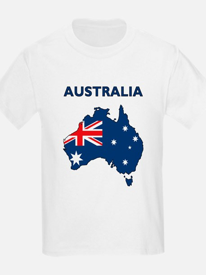 Map Of Australia T-Shirt