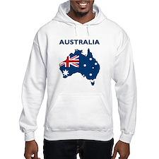 Map Of Australia Jumper Hoody