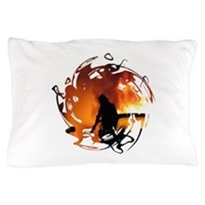 Firefighter Circle of Flames Pillow Case