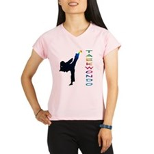 Cute Tae kwon do Performance Dry T-Shirt
