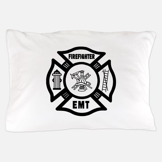 Firefighter EMT Pillow Case