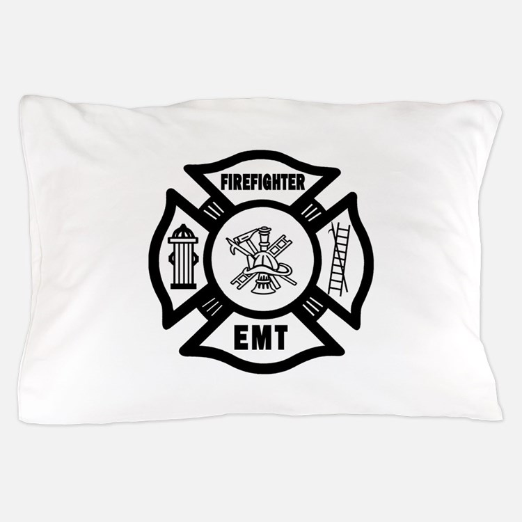 Firefighter EMT Pillow Case