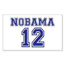 Nobama 2012 Decal