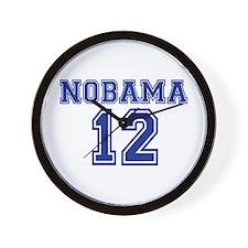 Nobama 2012 Wall Clock