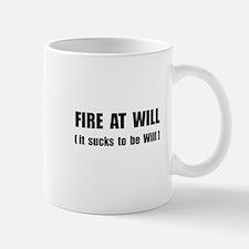 Fire At Will Small Small Mug