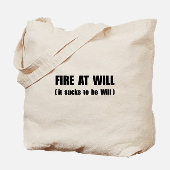 Fire At Will Tote Bag