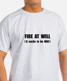 Fire At Will T-Shirt