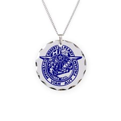 School Seal Necklace Charm