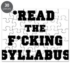 Read the Fucking Syllabus Puzzle