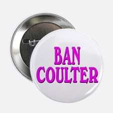 BAN COULTER Button