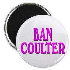 BAN COULTER Magnet