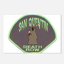 San Quentin Death Row Postcards (Package of 8)