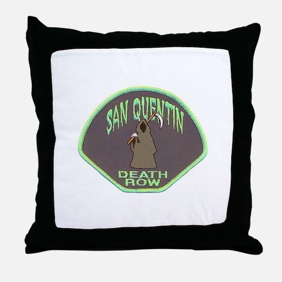 San Quentin Death Row Throw Pillow