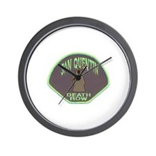 San Quentin Death Row Wall Clock