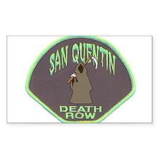 San Quentin Death Row Decal