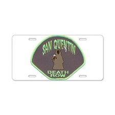 San Quentin Death Row Aluminum License Plate