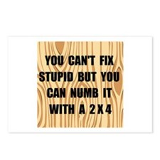 Numb Stupid Postcards (Package of 8)