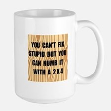 Numb Stupid Large Mug