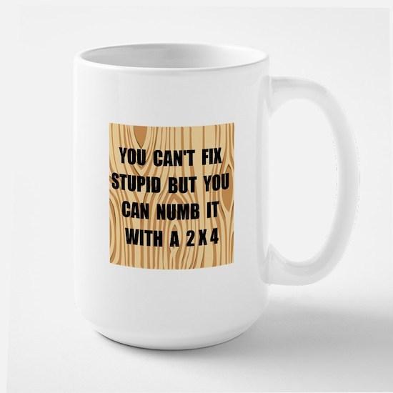 Numb Stupid Large Mug