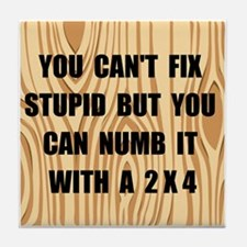 Numb Stupid Tile Coaster
