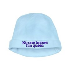 No One Knows I'm Queer baby hat