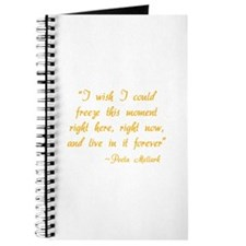 HG I wish I could freeze this moment Journal