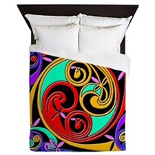 Celtic Swirl Queen Duvet