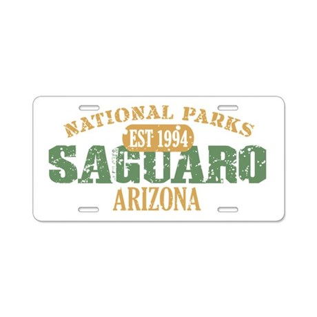 Saguaro National Park Arizona Aluminum License Pla
