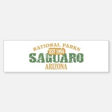 Saguaro National Park Arizona Sticker (Bumper)