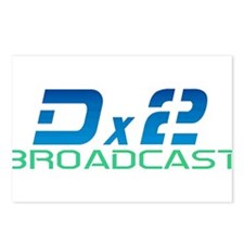 DX2 Broadcast Postcards (Package of 8)