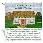 Irish Home Blessing Shower Curtain