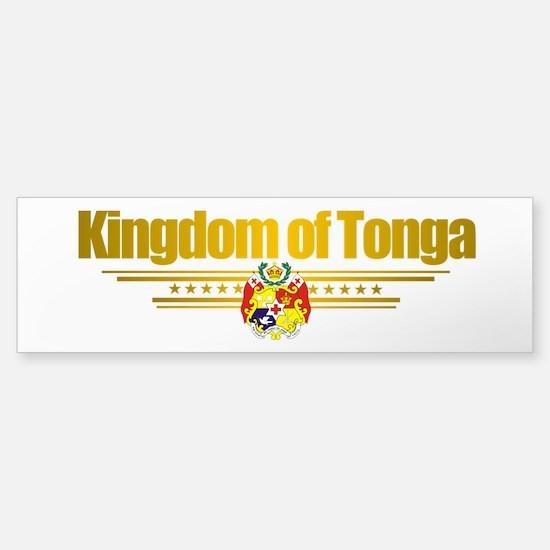 """Tonga Flag"" Sticker (Bumper)"