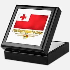 """Tonga Flag"" Keepsake Box"