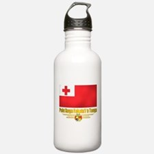 """""""Tonga Flag"""" Water Bottle"""