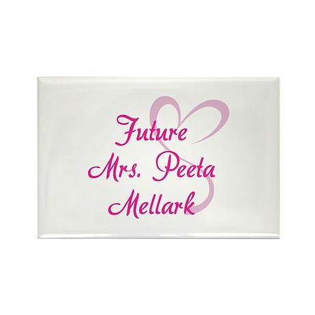 HG Future Mrs. Peeta Mellark Rectangle Magnet