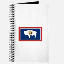 Wyoming State Flag Notebook