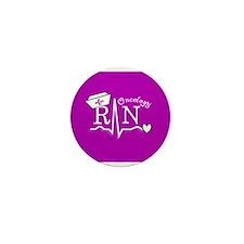 Oncology Nurse Mini Button (10 pack)