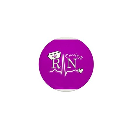 Oncology Nurse Mini Button