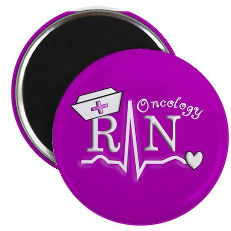 """Oncology Nurse 2.25"""" Magnet (100 pack)"""