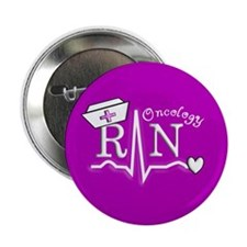 """Oncology Nurse 2.25"""" Button (10 pack)"""