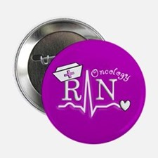"Oncology Nurse 2.25"" Button"