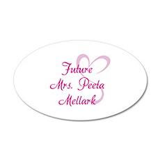 HG Future Mrs. Peeta Mellark 22x14 Oval Wall Peel