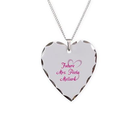 HG Future Mrs. Peeta Mellark Necklace Heart Charm