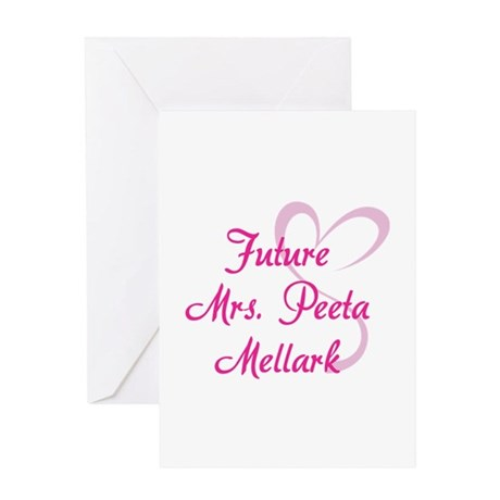 HG Future Mrs. Peeta Mellark Greeting Card